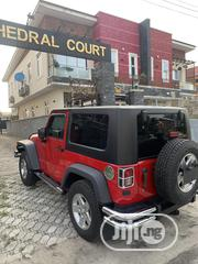 Jeep Wrangler 2008 4.0 Sahara Automatic Red | Cars for sale in Lagos State, Lekki Phase 2