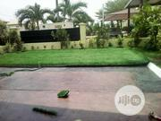 Artificial Garden Grass Installation On Compound Turf | Landscaping & Gardening Services for sale in Lagos State, Ikeja
