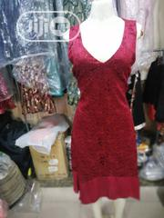 Sleevless Lace and Chiffon Dress Gown   Clothing for sale in Lagos State, Orile