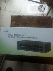 Cisco Sf 110d -16 -16port 10/100 Desktop Switcj   Networking Products for sale in Lagos State, Ikeja