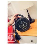 Women's Round Clock Shaped Shoulder Bag - Black | Bags for sale in Lagos State, Surulere