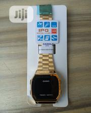 Casio Gold Unisex Wristwatch | Watches for sale in Lagos State, Surulere