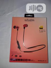 Wireless Ear Bluetooth Headset | Headphones for sale in Lagos State, Ikeja