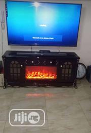 Affordable Quality Fire Place TV Stand | Furniture for sale in Lagos State, Ikoyi