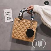 Beautiful Box Shaped Bag With Fur Key Holder and Scarf | Clothing Accessories for sale in Abuja (FCT) State, Lugbe District