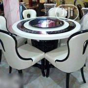 Marble Dining Table With Six Chairs | Furniture for sale in Lagos State, Ikeja
