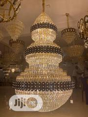 Gold Crystal Chandelier  Size Is by 1000  Colour | Home Accessories for sale in Lagos State, Ojo