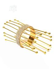 Ladies Spike Design Crystal Bangle - Gold | Jewelry for sale in Lagos State, Amuwo-Odofin