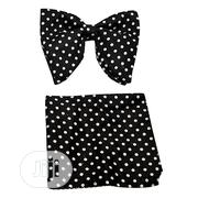 Men Butterfly Poker Doted Bow Tie - Black | Clothing Accessories for sale in Lagos State, Amuwo-Odofin