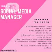 Social Media Manager | Computer & IT Services for sale in Lagos State, Ikeja