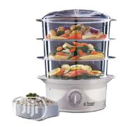 Russell Hobbs Stainless Steel 3 Tier Steamer | Kitchen Appliances for sale in Lagos State, Ojo