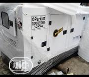 Original New Perkins 30-kva Soundproof Silent DIESEL Heavy (German) | Electrical Equipment for sale in Lagos State, Ojo