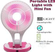 Rechargeable Table Led Foldable Fan | Home Appliances for sale in Lagos State, Ikeja