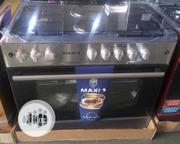 New MAXI (4+2) Standing Gas Cooker Auto Ignition With Oven 60+90cm | Kitchen Appliances for sale in Lagos State, Ojo