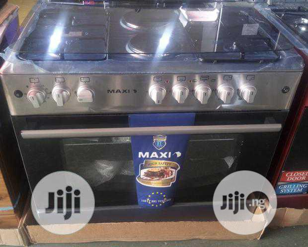 New MAXI (4+2) Standing Gas Cooker Auto Ignition With Oven 60+90cm
