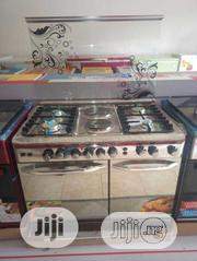 NEXUS SIX Burners Standing Gas 4+2(60by90) Auto Ignition Double Oven | Kitchen Appliances for sale in Lagos State, Ojo