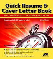 The Quick Resume Cover Letter Writing E-Book | Books & Games for sale in Ondo State, Akure
