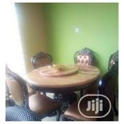 Royal Marble Dining Table With Six Chairs | Furniture for sale in Lagos State, Ikeja