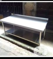 Work Table With Splash Back | Restaurant & Catering Equipment for sale in Lagos State, Ojo