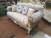 Royal Antique Chair for Your Home.It Comes in Leather and Fabrics | Furniture for sale in Anambra State, Onitsha
