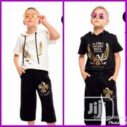 Kids Hooded Top And Short Set (Turkey) | Children's Clothing for sale in Abuja (FCT) State, Garki 1