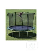 15ft Trampoline With Protector | Sports Equipment for sale in Edo State, Ekpoma