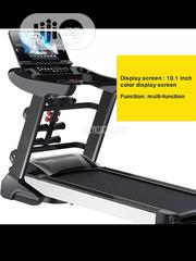 German 6HP Treadmill Machine With Incline, Dumbbells Mp3 Massager | Sports Equipment for sale in Imo State, Owerri