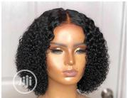 Jerry Curl Human Hair Wig With Closure | Hair Beauty for sale in Lagos State, Ikorodu