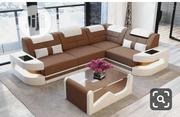 Sofa Leather Chair L-Shape | Furniture for sale in Lagos State, Magodo