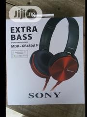 Sony Extra Bass Headphone MDR-XB450AP | Headphones for sale in Lagos State, Ikeja