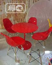 Impoted Round Dining Table Red By 4 | Furniture for sale in Lagos State, Ojo