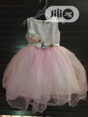 Girls Pink Tulle Ball Dress | Children's Clothing for sale in Lagos State, Ikeja