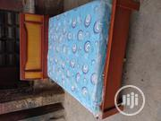 High Quality Bedframe With Quality Mouka Mattress | Furniture for sale in Lagos State, Ojo