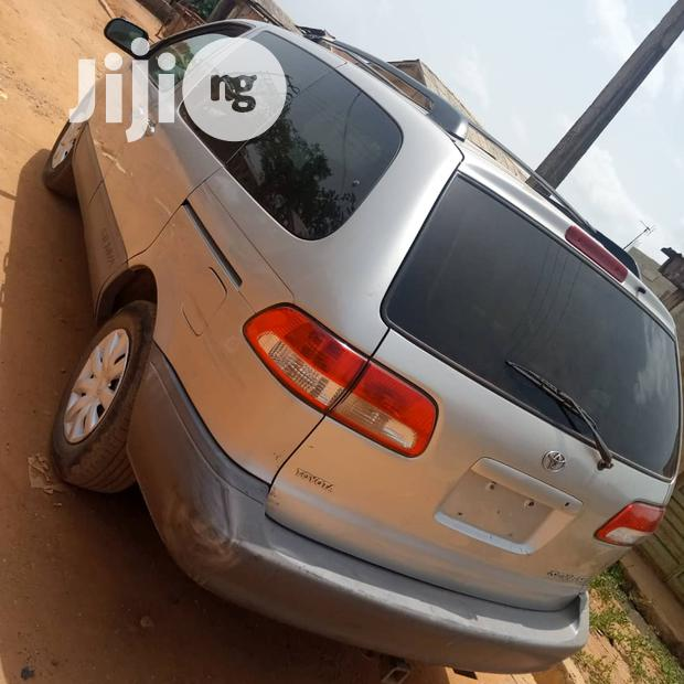 Toyota Sienna 2002 Silver In Surulere