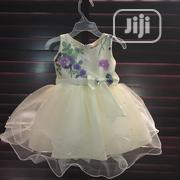 Girls Purple And Cream Tulle Gown | Children's Clothing for sale in Lagos State, Ikeja