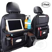 Car Seat Pockets Organizer With Collapsible Tray (Black) | Vehicle Parts & Accessories for sale in Lagos State, Isolo