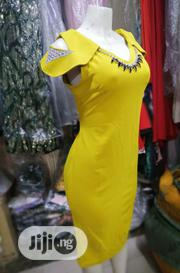 Yellow Fitted Gown | Clothing for sale in Lagos State, Maryland