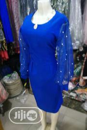 Blue Fitted US Gown for Parties and Occasions | Clothing for sale in Lagos State, Lekki Phase 1