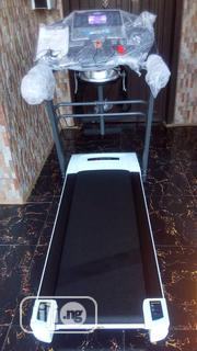 American Fitness 2hp Treadmill With Massager, Dumbbell,Mp3 , Incline | Sports Equipment for sale in Lagos State, Surulere