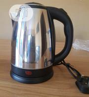 Stainless Steel & Cordless Electric Kettle 1.8L | Kitchen Appliances for sale in Lagos State, Alimosho