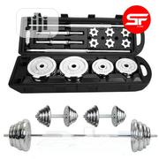 High Quality 50kg Dumbbell Sets With Box | Sports Equipment for sale in Abuja (FCT) State, Maitama