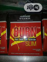 BURN Slim Tablets for Tummy and Weight Loss/From Alliance in Motion | Vitamins & Supplements for sale in Abuja (FCT) State, Wuse 2