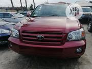 Toyota Highlander V6 2005 Red | Cars for sale in Rivers State, Port-Harcourt