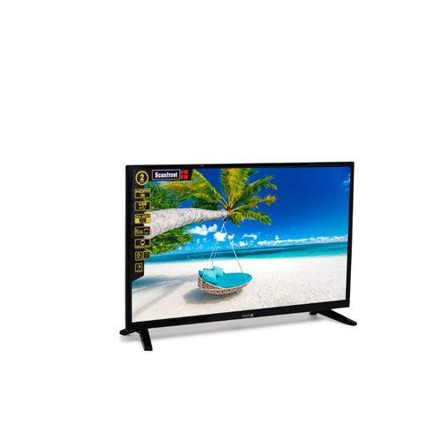 Scanfrost 32-Inch LED Television SFLED32CL+ 2 Years Warranty- Black