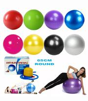 Fitness Exercise Ball Yoga Gym Ball Anti-burst With Pump | Sports Equipment for sale in Lagos State, Lekki Phase 2