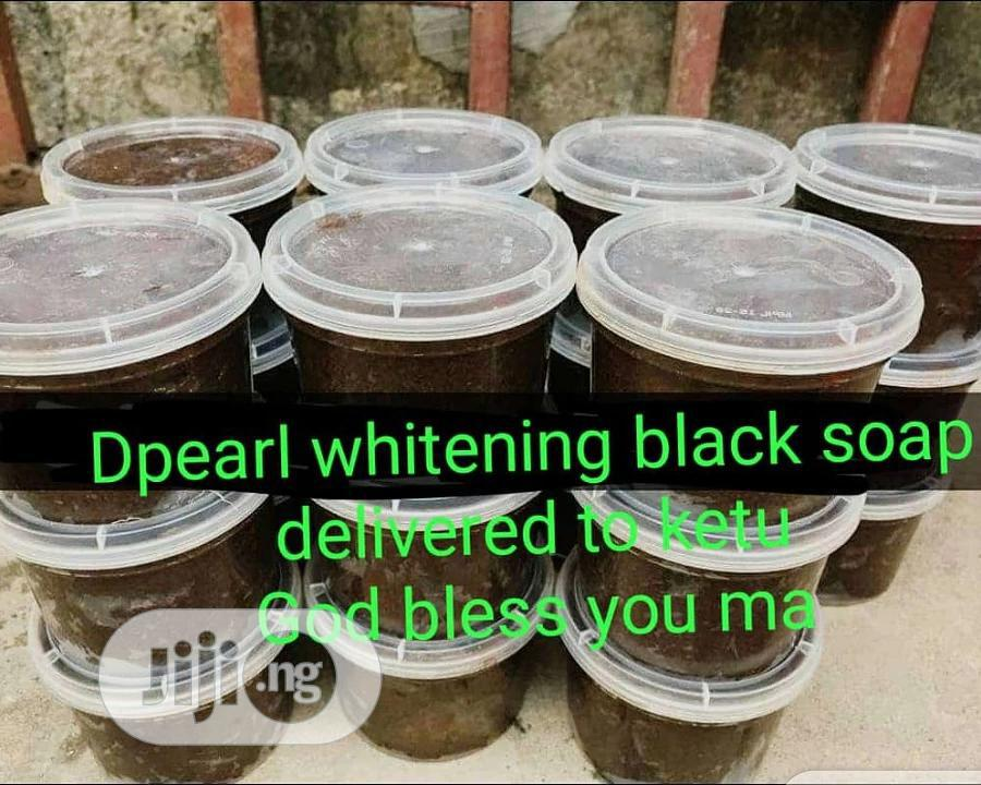 Whitening / Glowing Black Soap | Bath & Body for sale in Isolo, Lagos State, Nigeria