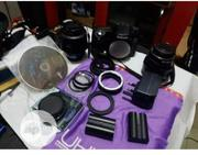 2 Lens With Samsung Professional Camera Wit. | Photo & Video Cameras for sale in Lagos State, Ikeja