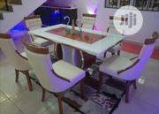 Marble Dining Table With Chair 6 Chairs | Furniture for sale in Lagos State, Ojo
