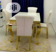 Quality Marble Dining Table by 4 | Furniture for sale in Lagos State, Lekki Phase 1