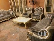 8 Seater Foreign Imported Turkey Chairs With Center Table   Furniture for sale in Lagos State, Amuwo-Odofin